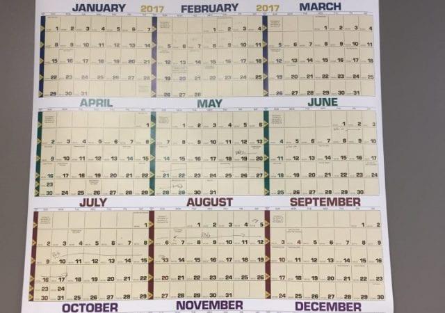 2017 Advanced Turf Solutions Wall Calendar