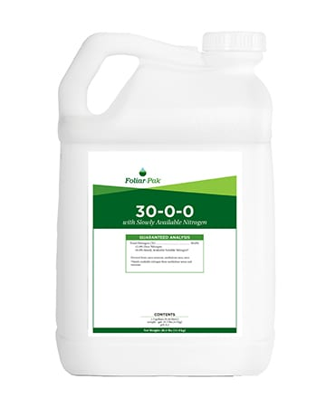 bottle of Foliar-Pak 30-0-0