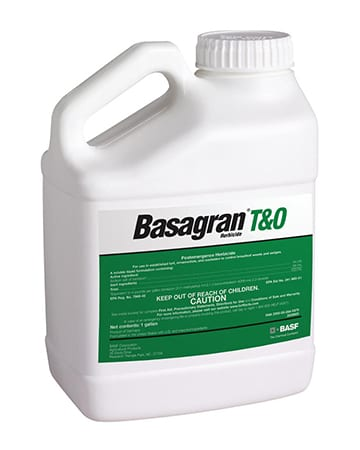 bottle of Basagran T&0
