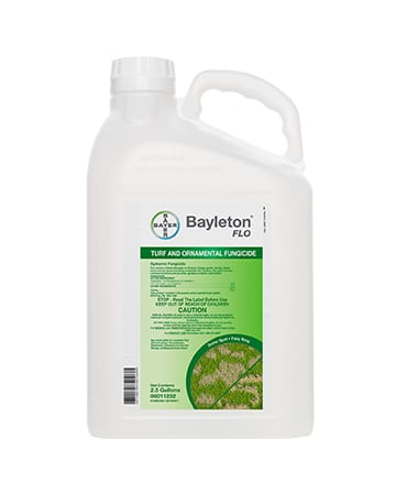 bottle of Bayer Bayleton FLO