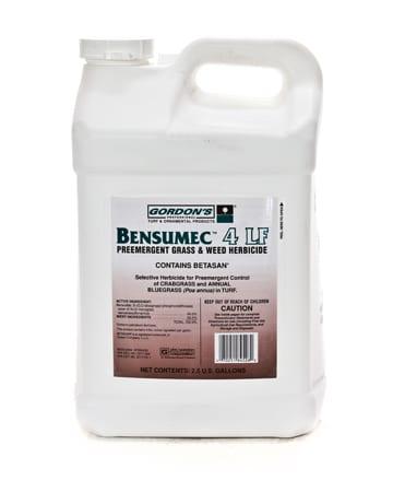 bottle of Bensumec 4 LF