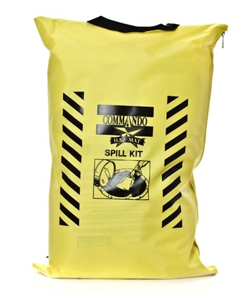 yellow commando spill kit bag