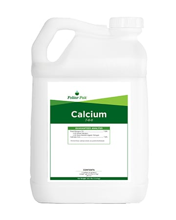 bottle of Foliar-Pak Calcium