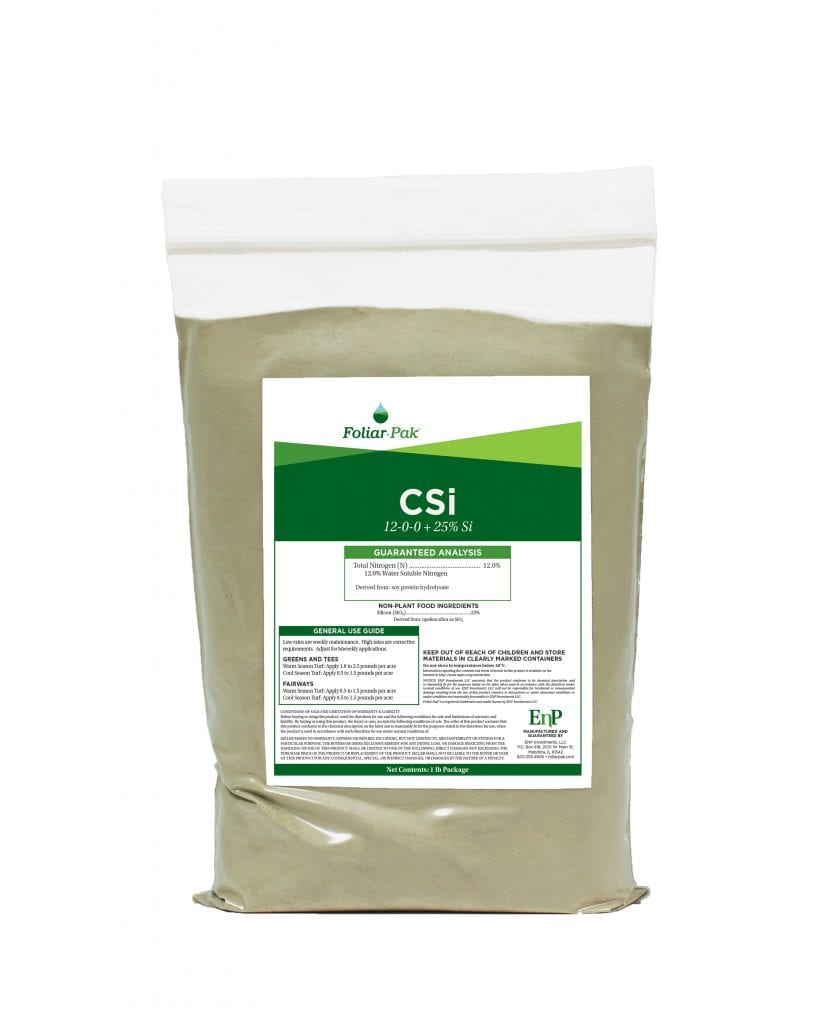 bag of Foliar-Pak CSi