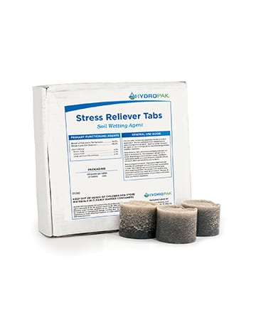 box of Stress Reliever Tabs