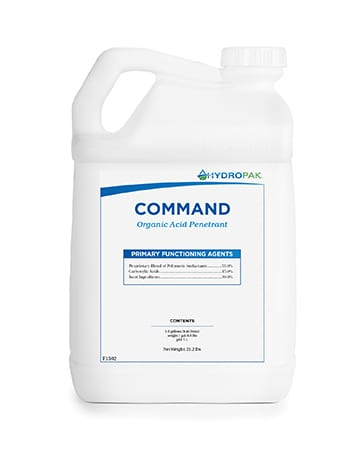 bottle of Hydro-Pak Command