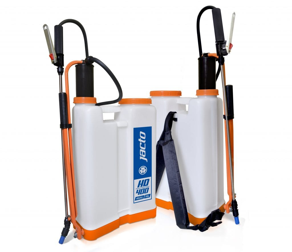 backpack applicator