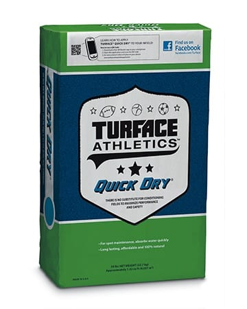 bag of turface athletics quick dry