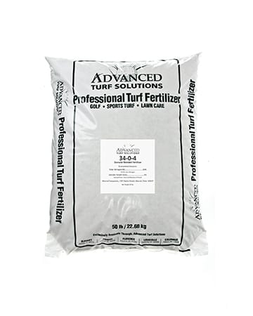 bag of advanced turf solutions