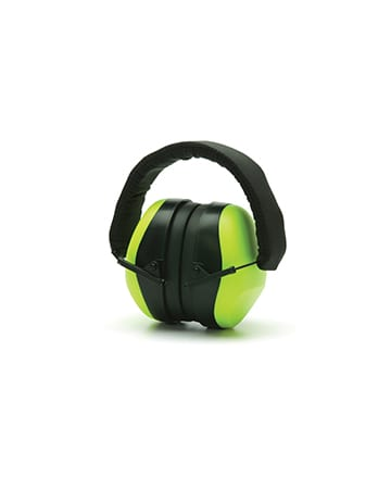 Lime Hi-Vis Ear Muff