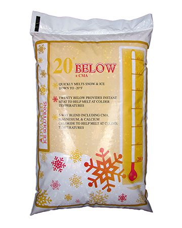 bag of 20 Below Ice Melt +CMA