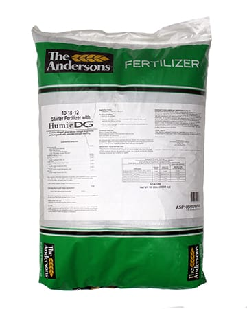 bag of The Andersons 10-18-12 Starter Fertilizer with Humic DG