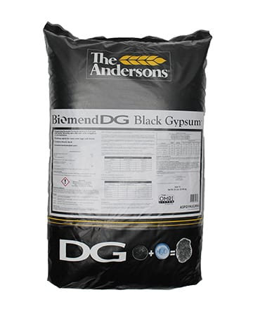 bag of The Andersons Biomend DG Black Gypsum