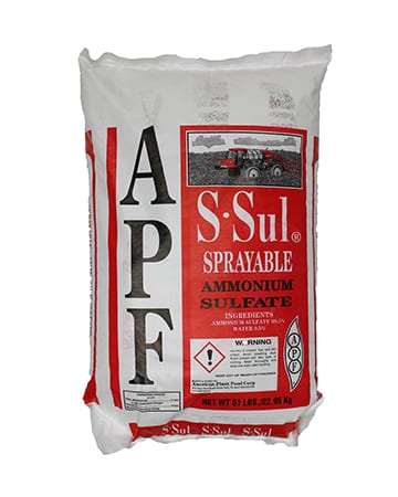 bag of Ammonium Sulfate Soluble