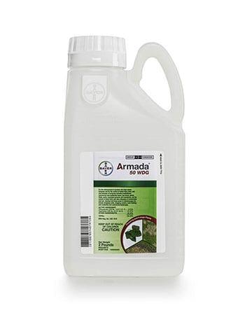 bottle of Bayer Armada 50 WGD