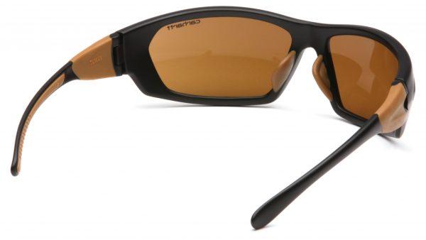 close up of bronze glasses
