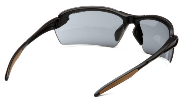 back view of gray lens by carhartt