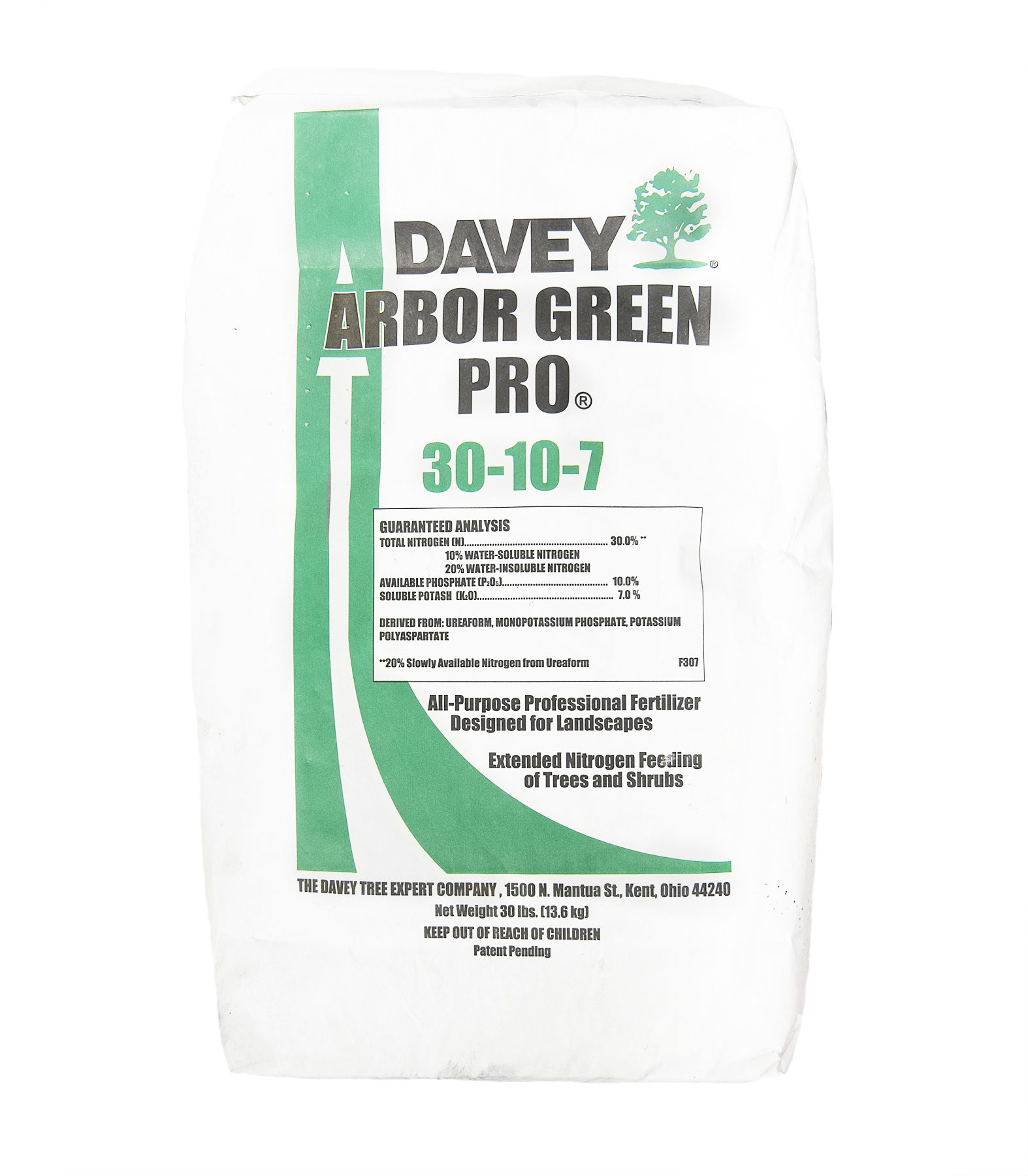 Arbor Green Pro, 30-10-7 | Advanced Turf Solutions