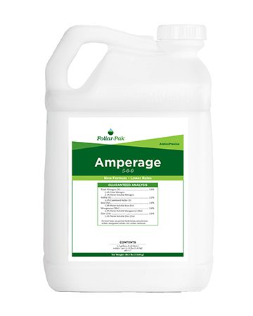 bottle of Foliar-Pak Amperage