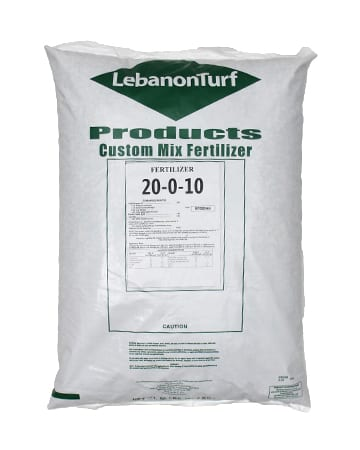bag of Lebanon Turf 20-0-10