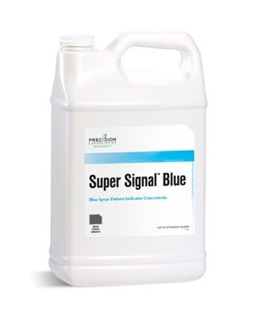 bottle of Super Signal Blue