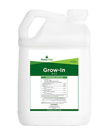 Foliar-Pak Grow-In