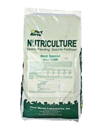 bag of 28-8-18 Bentgrass Special