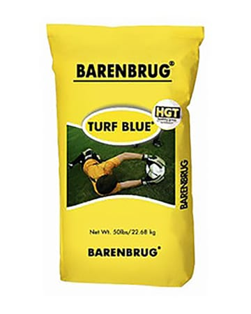yellow bag of Turf Blue HGT