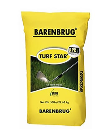 yellow bag of turf star