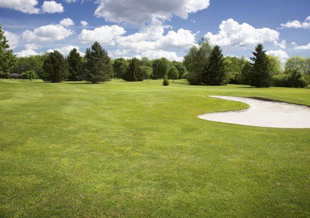 golf course spring