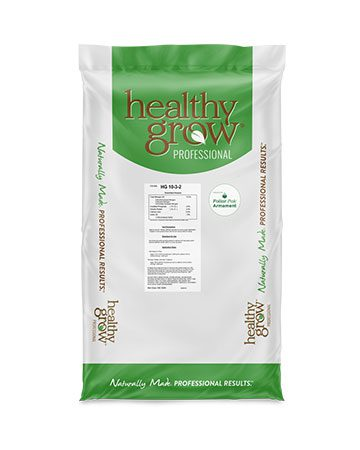 bag of Healthy Grow 10-3-2 with Foliar-Pak Armament