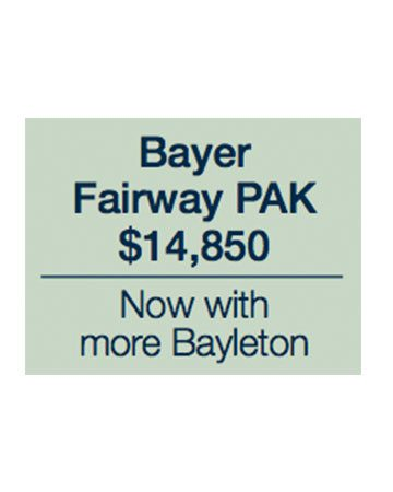 Bayer Fairway Pak