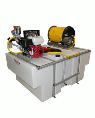 200 Gallon Space Saver Sprayer machine