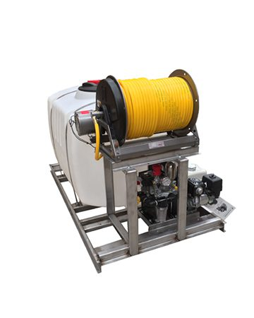 200 Gallon Skid Mounted Sprayer machine