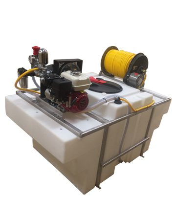 300 Gallon Space Saver Sprayer machine