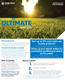 Corteva EOP Ultimate Rewards flyer