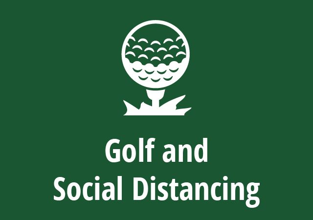 golf and social distancing