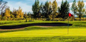 fall golf course