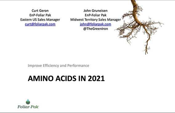amino acids in 2021