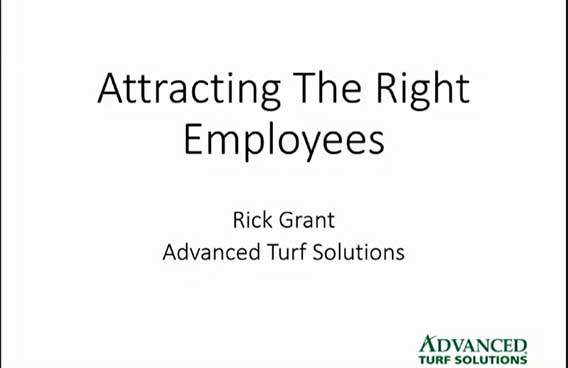 attracting the right employees