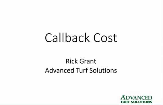 callback cost