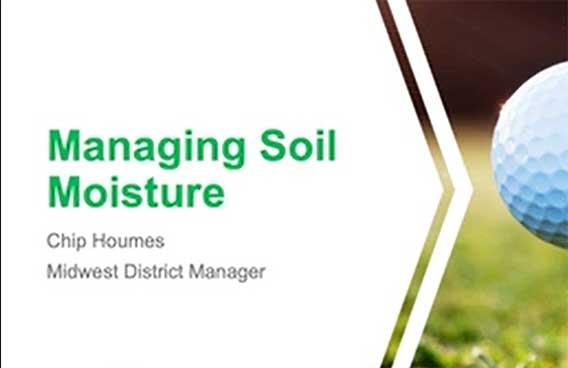 managing soil moisture