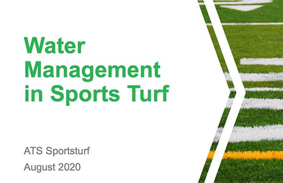 water management in sports turf
