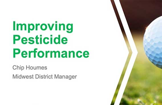 improving pesticide performance