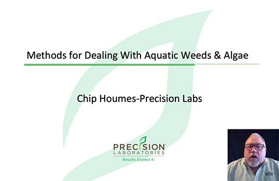 methods for dealing with aquatic weeds and algae