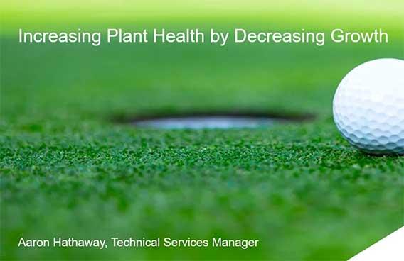 increasing plant healthy by decreasing growth