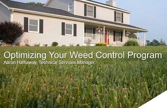 optimizing your weed control program