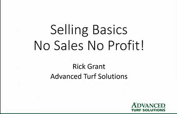 selling basics no sales no profit