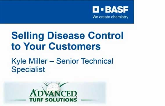 selling turf disease control to your customers
