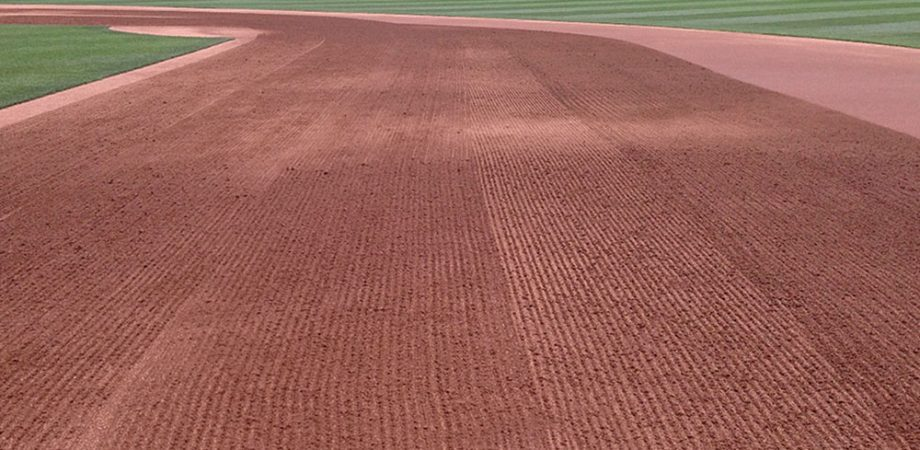 Dragging-the-infield